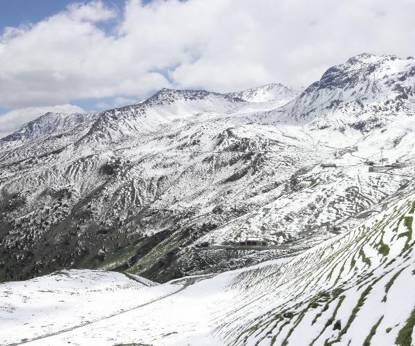 Montañas de Davos