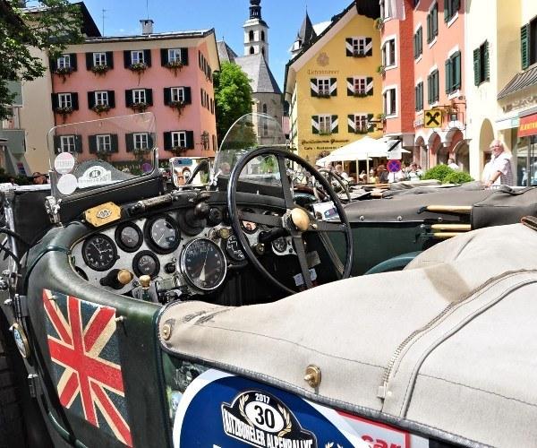 The Kitzbühel Alpine Rally returns to the Austrian Tirol