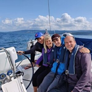 An active family holiday in Scotland: Day 7