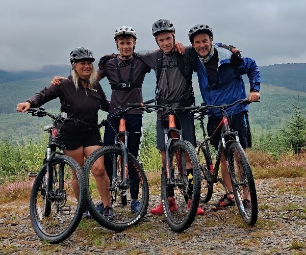An active family holiday in Scotland: Day 3