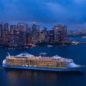 Royal Caribbean's Oasis of the Seas in New York