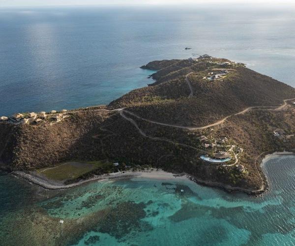 Richard Branson's new private island in the British Virgin Islands