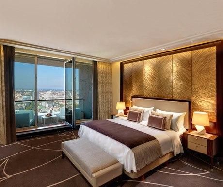 Waldorf Astoria suite, Berlin